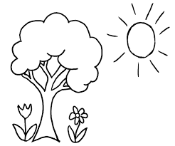 Small Picture Printable Tree Coloring Page Miakenasnet