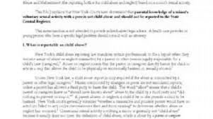 Sample Civil Complaint Form Simple Child Abuse Reporting And Teen Sexual Activity Clarifying Some
