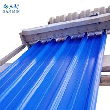 cost effective colorful pvc roof sheet with asa type 840