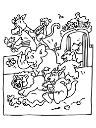 Zoo Animals Coloring Pages Online Coloring Kids Zoo Coloring