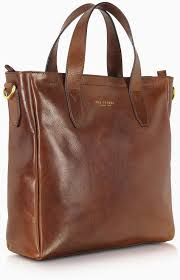 product images gallery the bridge dark brown leather tote bag