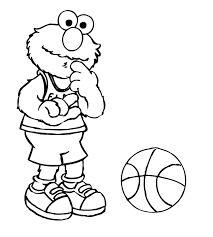 De Elmo Colouring Pages Color On Baby Elmo Reading A Book In Sesame