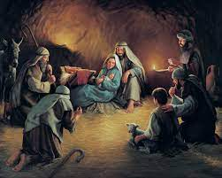 Artwork from Birth of Jesus Christ Exhibit