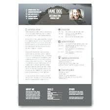 Creative Resume Template Download Free Best Of Creative Resume Design Templates Download Free Creative Resume