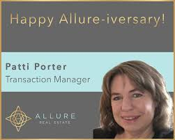 Happy Allure-iversary to our own Patti... - Allure Real Estate | Facebook