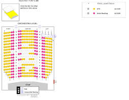 Mad Cow Theatre Seating Chart Orchestra Level Seating Chart Example Picture Of Historic