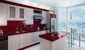 yes red red can have such visual impact on a counter and therefore on a space red counters can be created from materials both natural and man made