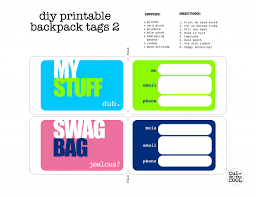 Printable Luggage Tags Printable Luggage Tags Mit Hillel