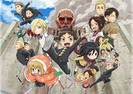 They built the 3 set of high, solid walls around their capital to keep the titans off and save them from these monsters. Attack On Titan Junior High Really The Review Monster