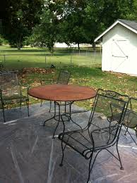 painting wrought iron furniture. So, The Furniture Painting Wrought Iron T