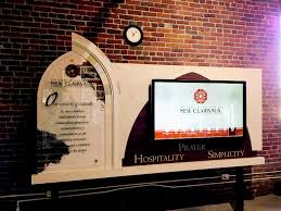 <b>New Digital Display</b> at the Abbey of Our Lady of New Clairvaux ...