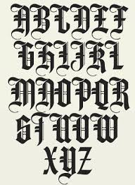 black letter font 11 best old english typo images on pinterest writing typography