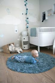 Bedroom : Round Blue Rugs Woodland Inspired Bedrooms For Kids 12 ...