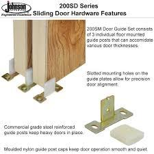 bypass door floor guide steel reinforced door guides bypass closet door floor guide