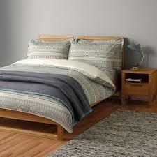 Buy John Lewis Scandi Jacquard Cotton Bedding Online at johnlewis.com ...