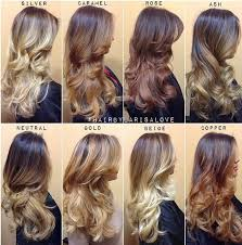 What Is An Ombre Hairstyle the shades of blonde guide for ombre and balayage career hair 6798 by stevesalt.us