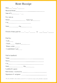Paid Receipt Form Reimbursement Receipt Template