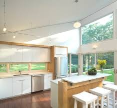 Hampton Bay Track Lighting Kitchen Contemporary with Kitchen Island Modern  Open