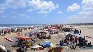 توافد كثيف من المواطنين على مصيف بلطيم في ثالث أيام عيد الأضحى المبارك