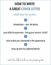 how to write a cover letter the best cover letter ever written