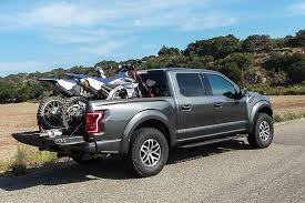 Ford Raptor Pickup Truck Motorcycle Transportation Review | Cycle World