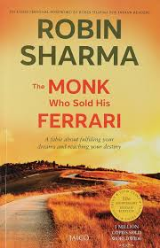 the monk who sold his ferrari by robin sharma life learning review