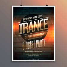 Template For Event Flyer Party Event Flyer Template Including Venue And Date Download Free