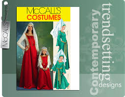 Mccalls Costume Patterns Magnificent McCall's 48 Medieval Costumes