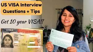 usa tourist visa interview for indians