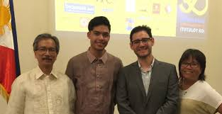 th anniversary filipino edsa people power essay writing contest  l r edwin lozada president of philippine american writers and artists inc pawa