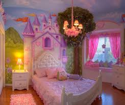 Princess Bedrooms For Girls Beautiful Custom Deco Princess Castle Bed Designed With Top Play