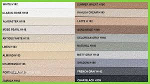 Bostik Caulk Color Chart Custom Building Products Caulk