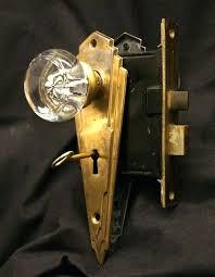 art door hardware deco brass knobs