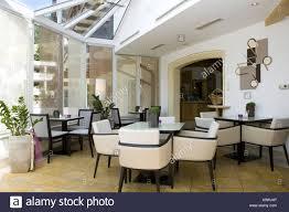 Bar Bistro Cafe Wintergarten Fenster Innenaufnahme Restaurant