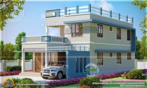 simple modern home design in 1817 square feet kerala top amazing