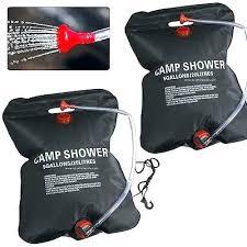 sun shower camping sun shower camping 2 x litre litre camping solar powered shower outdoor sun sun shower camping