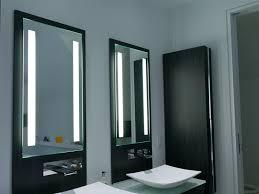 Bathroom Lighted Bathroom Mirror Cabinet Impressive In