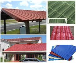 corrugated galvanized steel sheet painting galvanized steel roofing