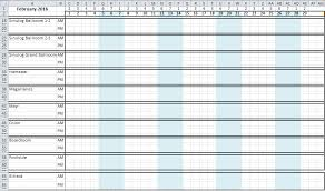 How To Make A Dynamic Hotel Ballroom Occupancy Chart Excel