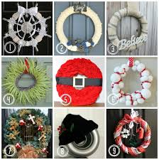 A Poinsettia And Pine Cone Wreath Would Look Wonderfully Festive Holiday Wreaths Ideas
