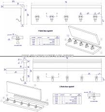 Coat Rack Shelf Plans Vintage Wall Stand With Coat Hooks 100D Drawings good Coat Rack Shelf 86