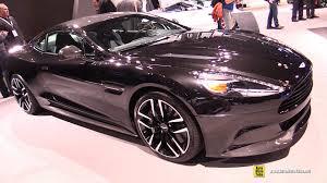 aston martin vanquish 2015 black. 2015 aston martin vanquish carbon black exterior and interior walkaround new york auto show youtube