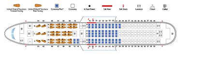 boeing 767 300 version 1 united airlines seating