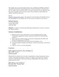 Clerical Assistant Resume Sample Resume Office Clerk Resume Sample 24