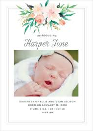 newborn baby announcement sample birth announcements 40 off super cute designs basic invite