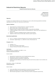 Electrical Resume Sample Electrical Engineer Resume Word On High