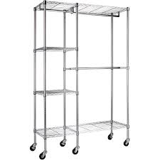 sandusky 48w x 18d x 74h mobile wire garment rack