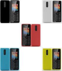 Nokia 108 Dual SIM collection 3D model ...