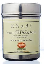Khadi Mauri <b>Herbal</b> Neem Tulsi <b>Face</b> Pack - <b>Anti Acne</b> & Anti Tan ...