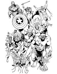 Small Picture Emejing Avengers Coloring Pages Photos New Printable Coloring